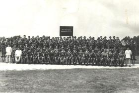 Group photograph 562 Para Sqn RCT (V) Sennelager 1973