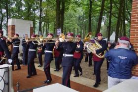 The Band of the Parachute Regiment, Arnhem, 2014.