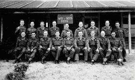 Sergeants Mess, 63 Company RASC, Gaza Ridge, Palestine, 1945
