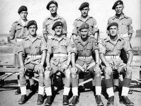 Sergeant's Mess, Palestine, 1946.