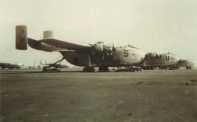 Several Blackburn Beverleys at RAF Khormaksar, Aden, c.1967