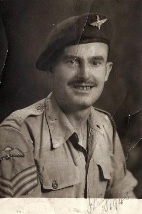 Sgt Alfred Finucane, Italy, 1943.
