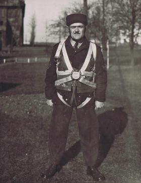 Sgt 'Dad' Stratton, Instructor at RAF Ringway, c1940s