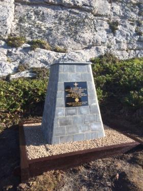 McKay VC Memorial, Mount Longdon, 23 March 2015.