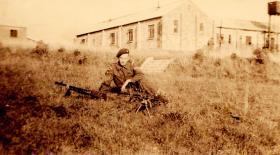 Sgt Alan Wyatt Piddlehinton Camp c1946