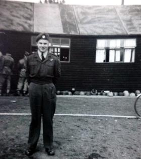 Sgt Gavin,  Parachute Course Instructor, No 1 PTS RAF Abingdon, c1952.