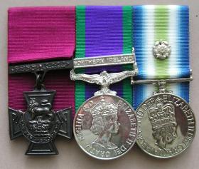 Medal set of Sgt Ian McKay VC