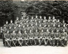 Sergeants' Mess 66th Airborne Light Regiment, December 1948