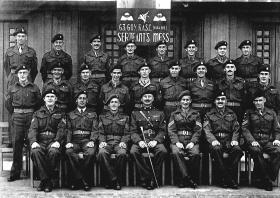 Sgts Mess, 63 COY RASC, Hildesheim, 1949