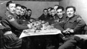 Sergeants of the 6th (Royal Welch) Parachute Battalion, date unknown.