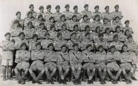 1st Parachute Battalion Sergeants Mess Tul Karm, Palestine - June 1946