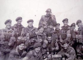 Members of 16th Para Bde on a Signal course, c1952.