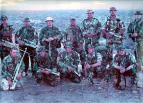 Sniper Platoon, 2 PARA, Kenya, 2003.