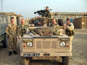 2 PARA, Sniper Platoon's WMIK Iraq, 2005.