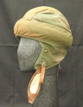 Special Operations Executive (SOE) Parachutists Helmet from the Airborne Assault Museum Collection, Duxford.