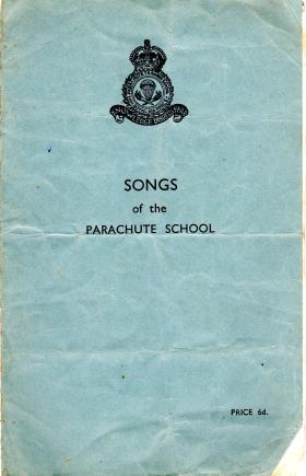 Songs of the Parachute School, Upper Heyford, c1947.