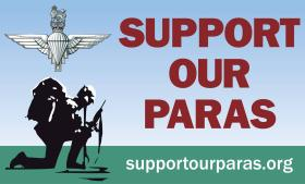 Support Our Paras Charity Logo