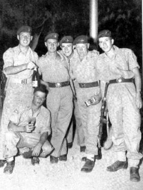 Members of 2 PARA, Amman Jordan, 1958.