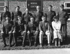 Members of the RAMC attached to 22 SAS, circa 1978