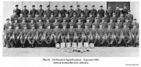 216 Parachute Signal Squadron, Aldershot, 1968.