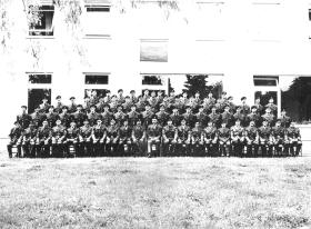 Group photo of Special Reconnaissance Squadron, Paderborn, c1964