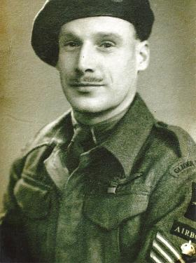 Staff Sergeant 'Bert' Gibbs, c1944.