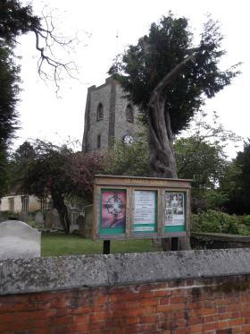 St Mary's Church, Walton on Thames, 2012.