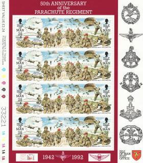 Isle of Man 50th Anniversary Stamp Set