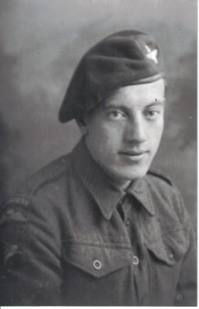 'Candy' Marsland of No 2 Platoon 21st Ind Para Coy