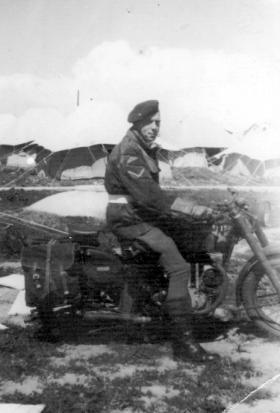 L/Cpl Stan Bixby, Gaza, 1945.