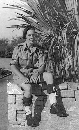 22 yr old L/cpl Bixby, Palestine, 11 November 1945.