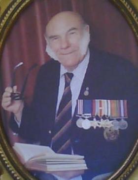 Sam Steadman MM aged 74, 1989.