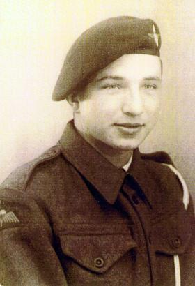 Pte Stephen G Morgan, 2nd Para Bn, March 1944.