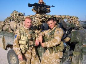 Members of Sniper Platoon, 2 PARA, Iraq, 2005.