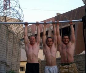 Hanging around! Iraq, 2005.