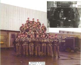Mortar Platoon 2 Para Ballymurphy Northern Ireland 1976