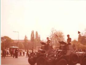 Members of 2 PARA in Ferrets, Berlin