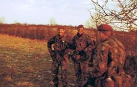 Members of the Mortar Platoon, 2 PARA, South Armagh, 1984/85 Tour.