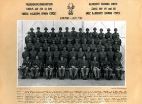 Parachute training course 44v, South African Airborne Forces, 1967.