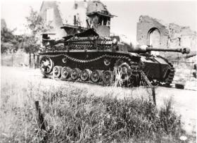 A Stug III Destroyed During Operation Market Garden, 1944
