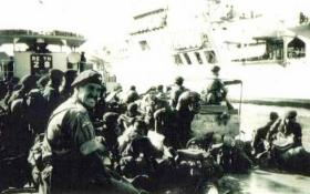 Loading for Suez, 1956.
