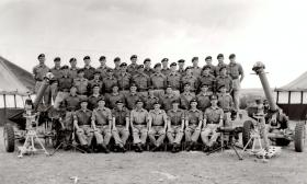 Support Company,  15 PARA, Cyprus, date unknown.