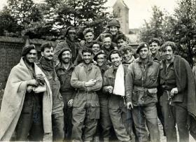 Survivors 1st Airborne Division at Nijmegen, 26 September 1944.