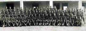 Group photograph of T Coy in Italy 1943.