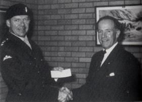 Col Rutherford and Wallace McKie, 1990.
