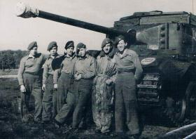 An Avenger crew in Germany c 1945