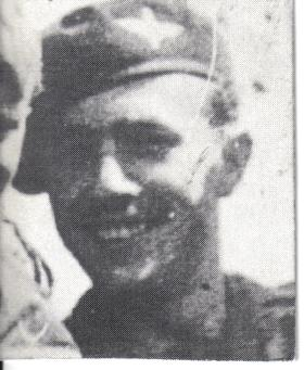 Pte Terry Fruin, No 2 Platoon 21st Indep Coy.