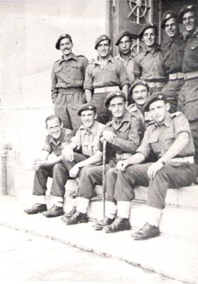 TFH with 6th (Royal Welch) Parachute Battalion, Greece, 1944
