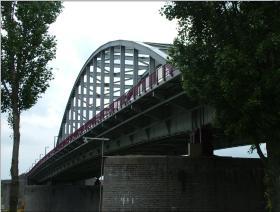 The rebuilt Arnhem Bridge, 2009