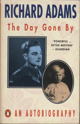 Front cover of Richard Adam's autobiography, 'The Day Gone By'.